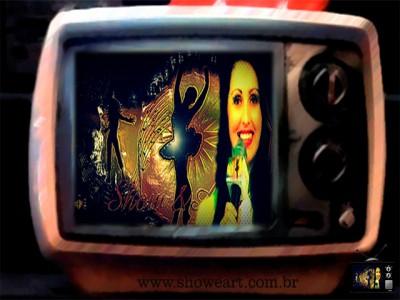 "TV ! Programa Show&Art ""O Portal Na Tv"" Apresentação Dani Pessôa"