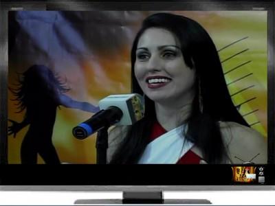"""TV ! Pgm Show&Art """"Bastidores Encena"""" Apresentação Dani Pessôa"""
