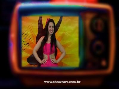 """TV ! Programa Show&Art """"Dança Comigo"""" Apresentação Dani Pessôa"""